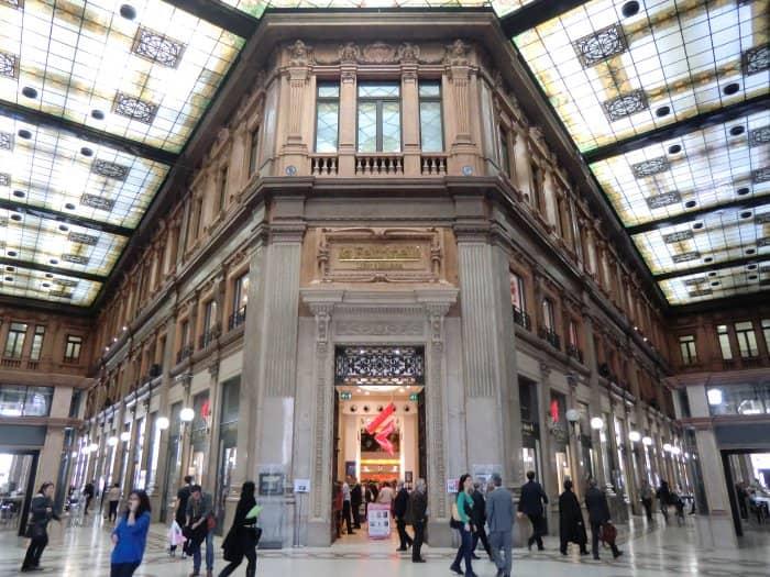 Compras em Roma