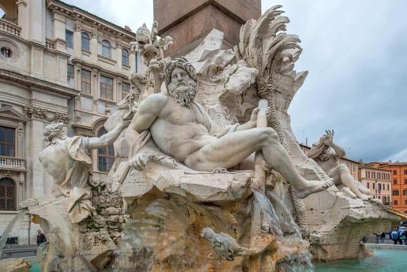 Roma Italia Pontos de Interesse