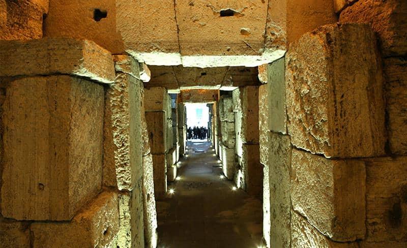 Cidade Subterrânea em Roma