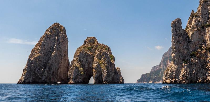Passeio de Roma a Ilha de Capri Italia