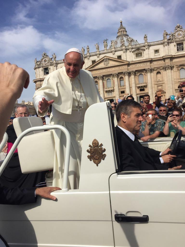 Audiencia com o Papa