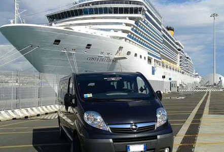 Taxi from Rome to Civitavecchia