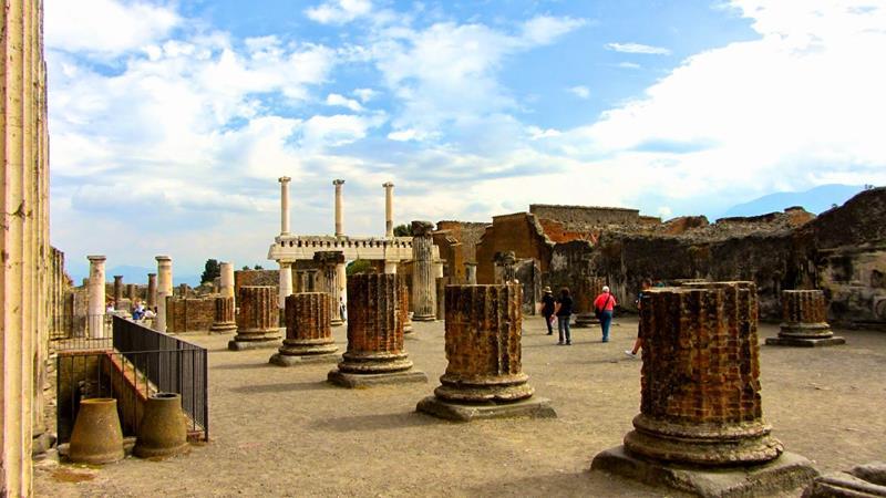 Visite de Naples Pompei