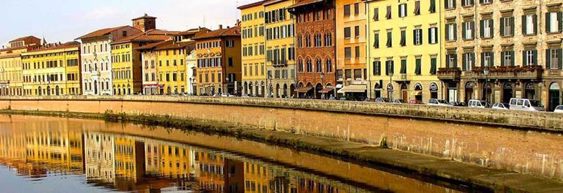 Como ir de Roma para Pisa